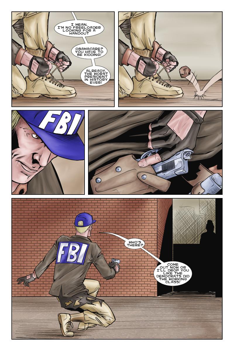I am an F… B… I… Agent!